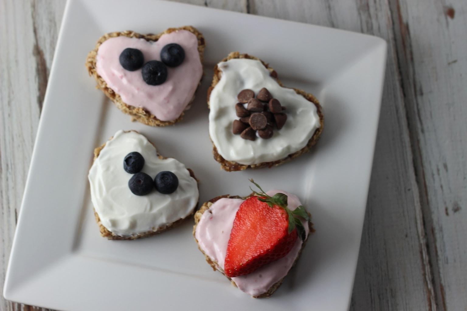 valentines day no bake sweet treat - Healthy Valentine Desserts