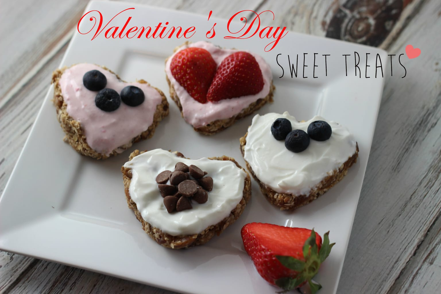today i am sharing a really easy and delicious valentines day treat that you can make for your friends family or your love valentines day is normally - Healthy Valentines Treats