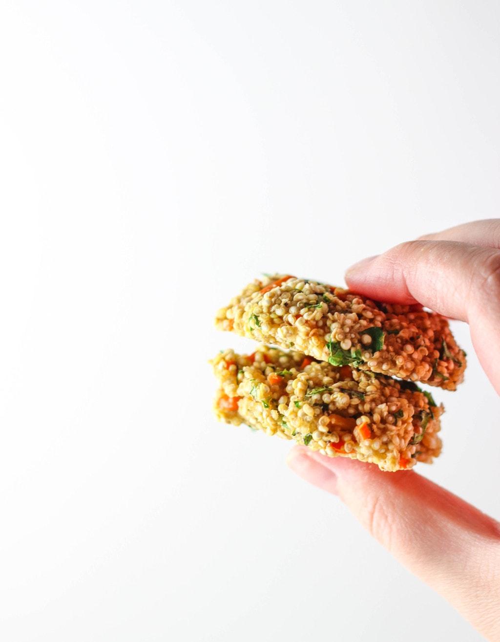 Mini Baked Quinoa Patties