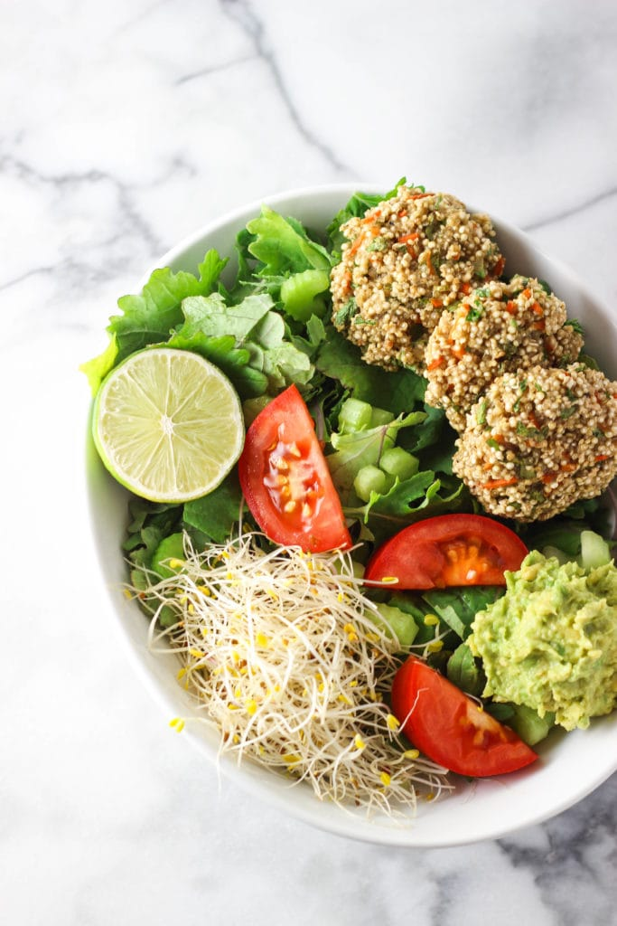 Mini Baked Quinoa Patties that are packed with protein and many ...