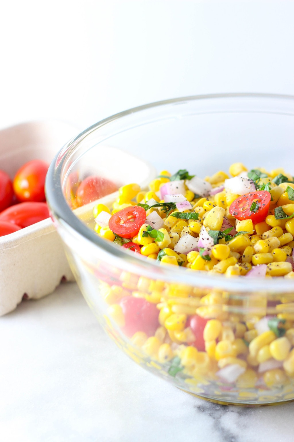5 ingredient corn salad exploring healthy foods 5 ingredient corn salad that is great for summer bbqs this is a light forumfinder Choice Image
