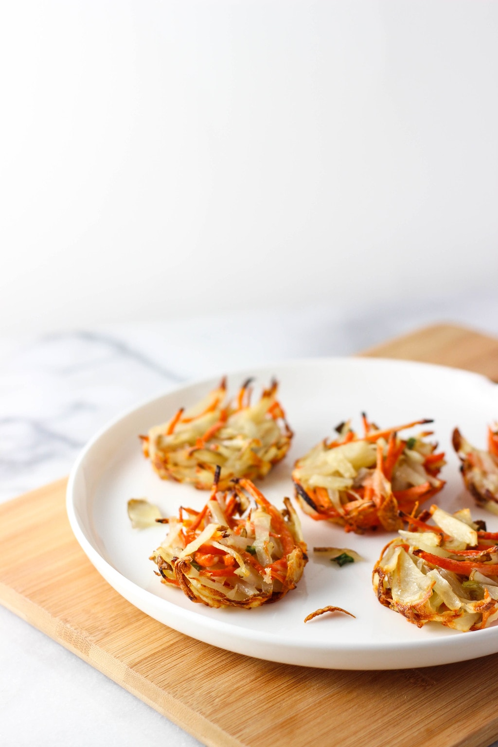 Baked Hash Brown Cakes - Exploring Healthy Foods