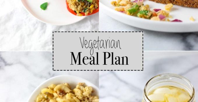 Vegetarian Meal Plan | June 2016