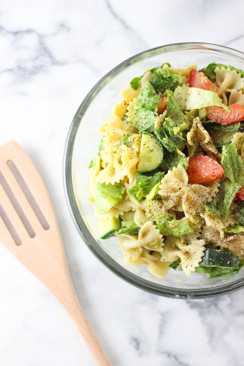 Avocado Pasta Salad Exploring Healthy Foods Watermelon Wallpaper Rainbow Find Free HD for Desktop [freshlhys.tk]