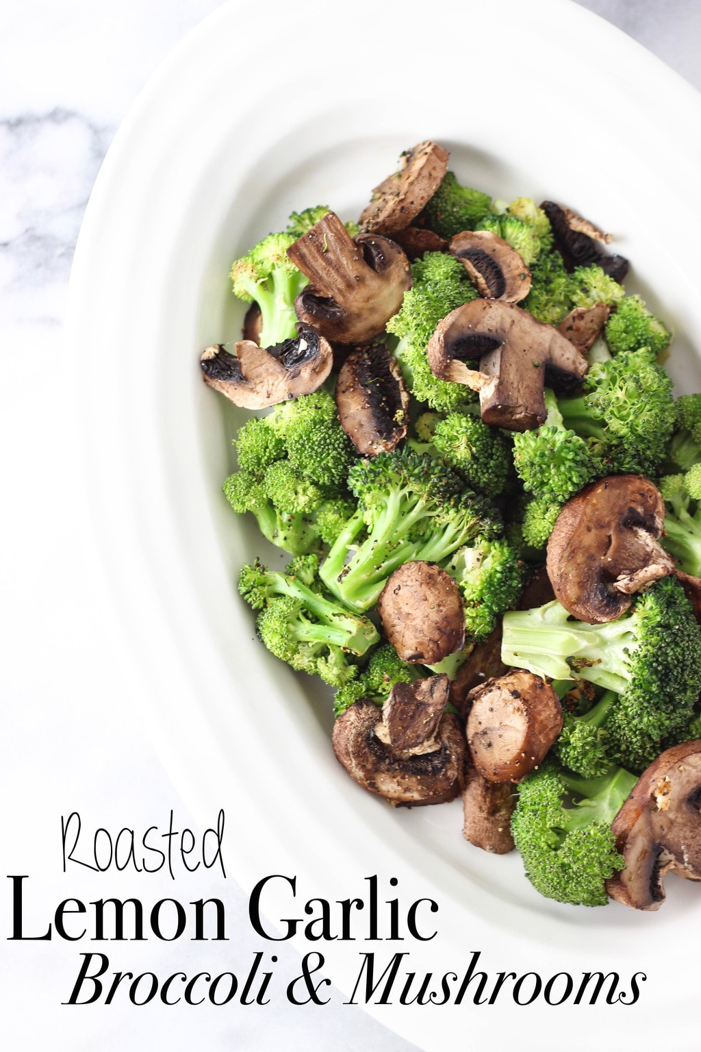 Roasted Garlic Lemon Broccoli Recipe — Dishmaps
