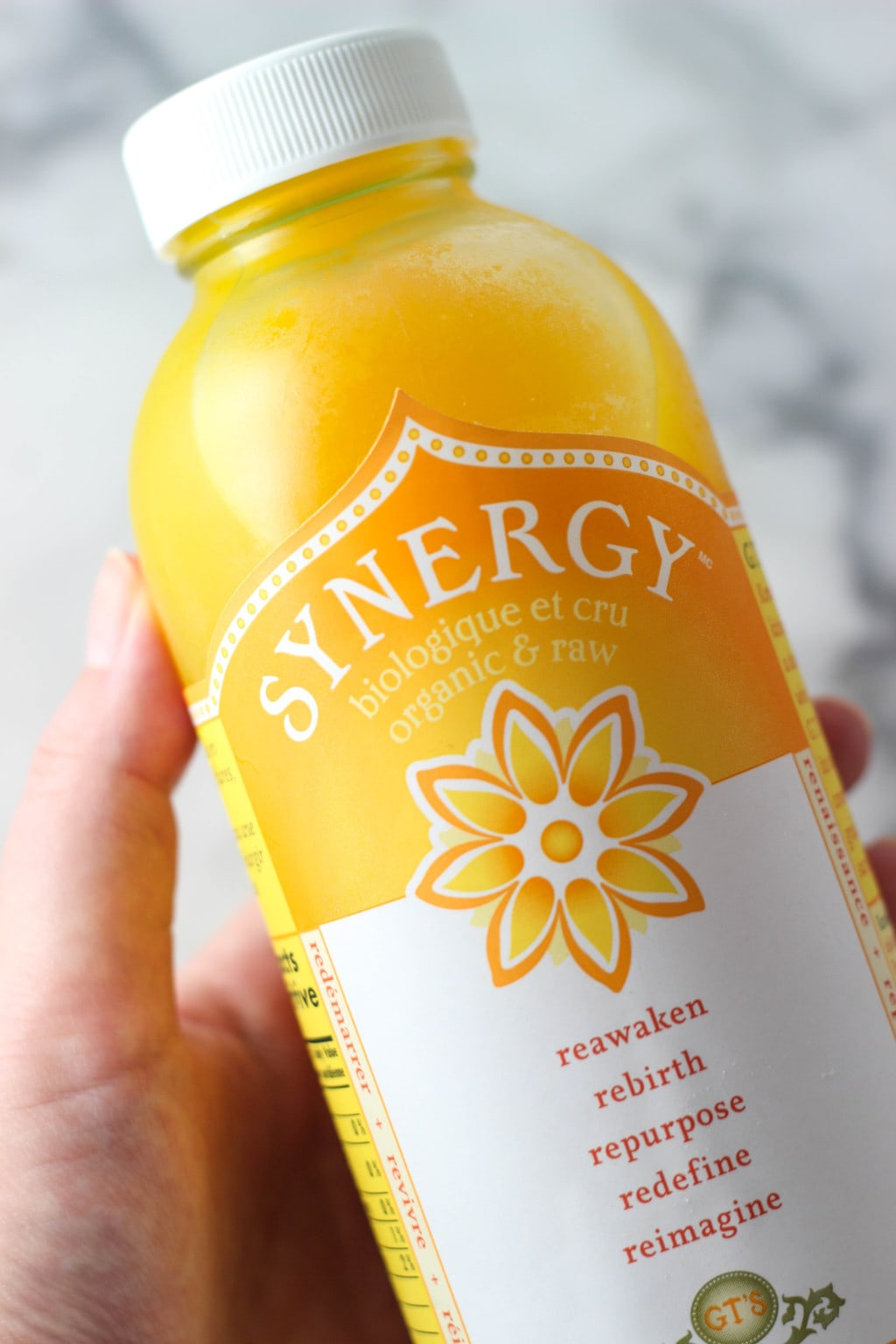 Pineapple Mango Kombucha Smoothie is a great tasty twist on regular kombucha! Also great for those who find kombucha overpowering! Try it out today!