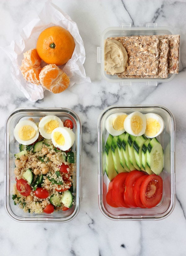 Simple Hard-Boiled Eggs Lunch Ideas