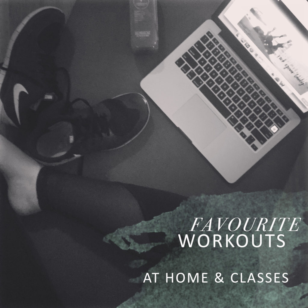 Favourite at home workouts and Winnipeg fitness classes! Great ideas for those looking for workout options for 2017!