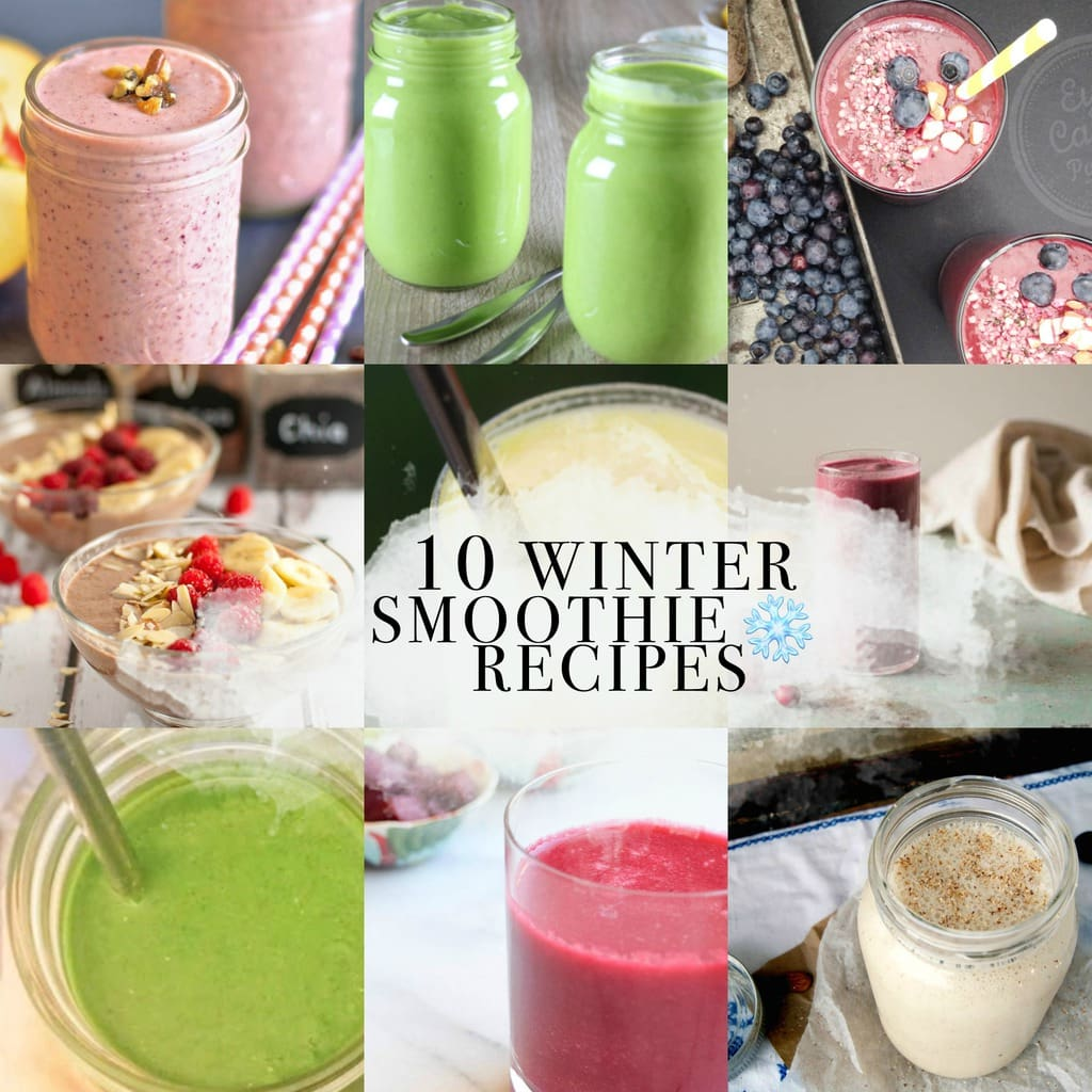 10 Seasonal Smoothies For Winter