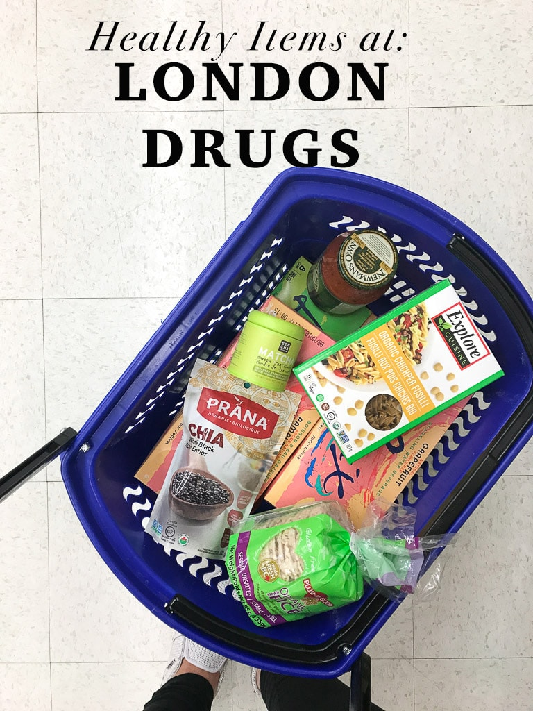 20 HEALTHY FOODS TO BUY AT LONDON DRUGS! Easily accessible foods that are healthy and nourishing!