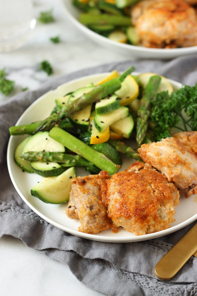 Healthy breaded chicken dinner idea exploring healthy foods healthy breaded chicken easy dinner idea that the whole family will enjoy paleo friendly forumfinder Image collections