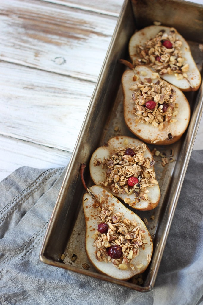 Cozy Cranberry Pear Bake