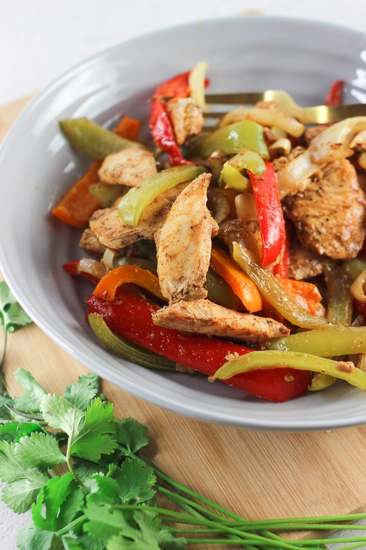 healthy baked chicken fajitas for weight loss 2018
